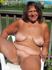 Thick seventy grandmother..