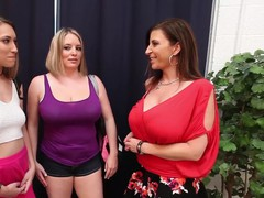 Kimber Lee in All Girl 3Some with Sara Jay & Maggie Green!