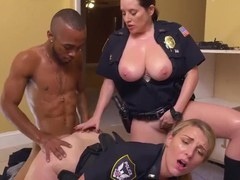Beautiful blonde takes it up the ass Black