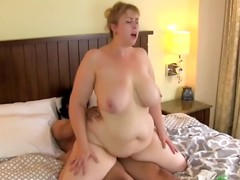 Blonde Milf fucked both ways