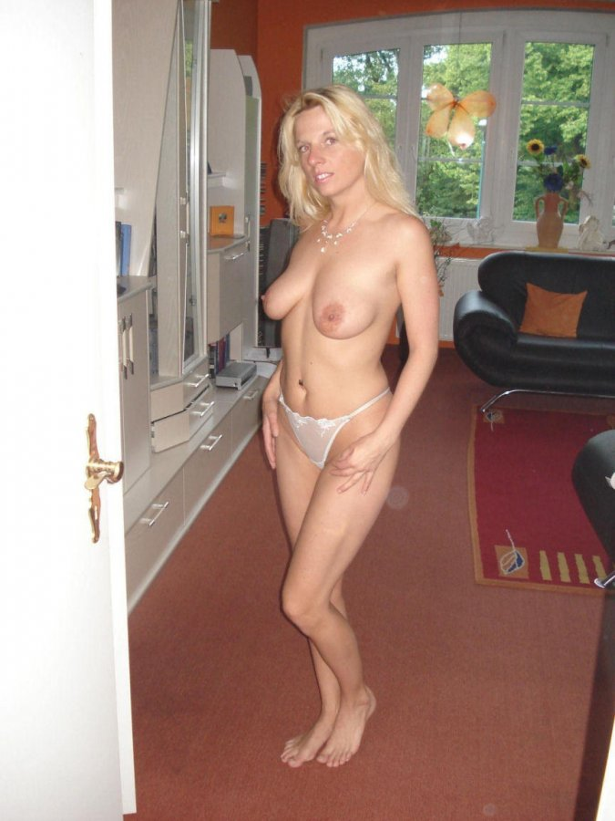 At my wife naked look