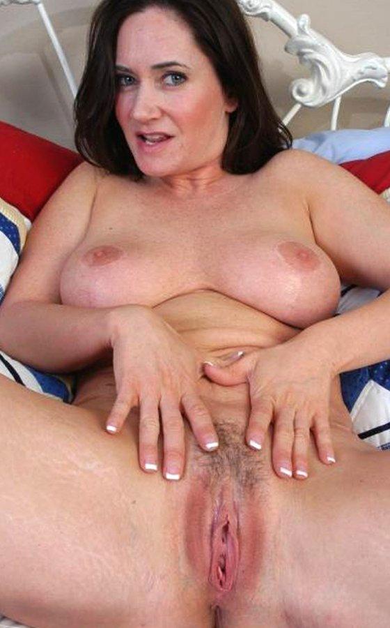 Girl having a shaking orgasm