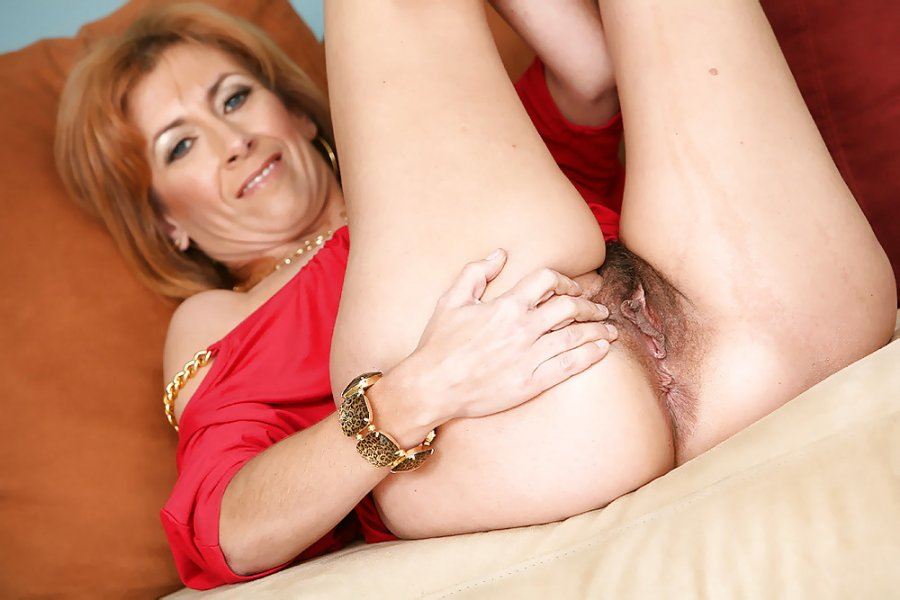 A plump middleaged woman with a wide ass and 2 guys 4